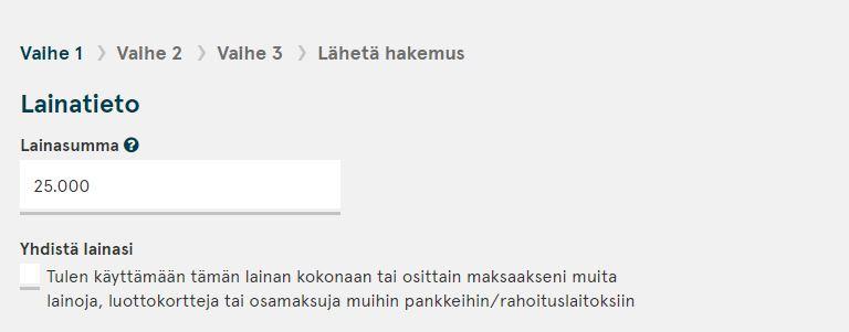 lainanhaku bank-norwegianin kautta