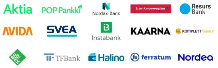 halvin kulutusluotto pankkeja kilpailuttamalla
