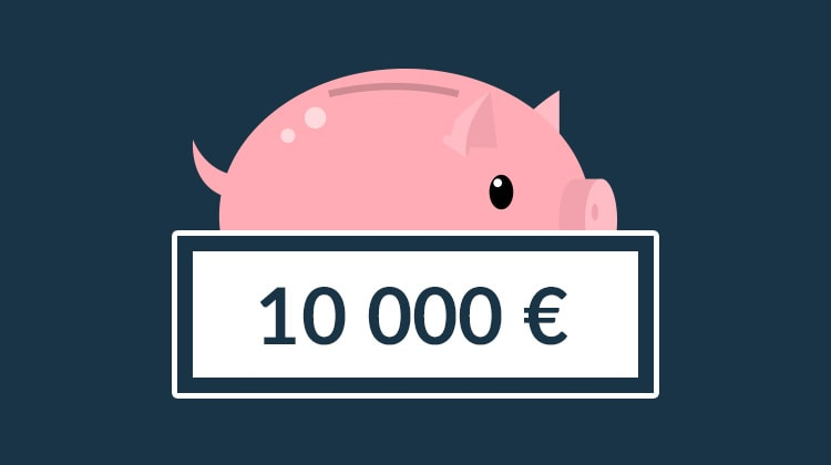 Miten säästää 10 000 euroa vuodessa?