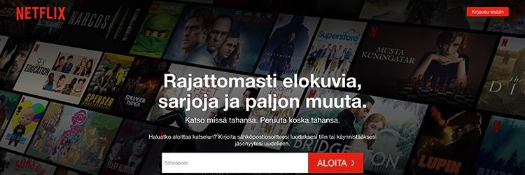 Netflix suoratoistopalvelu