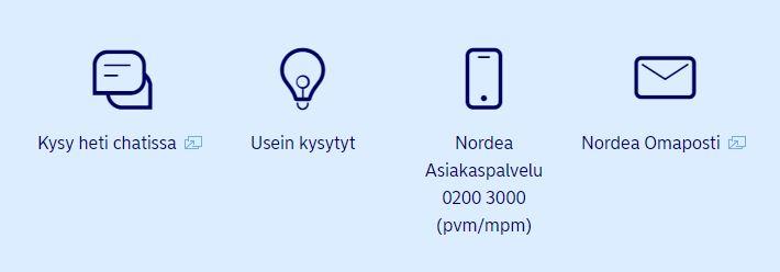 nordean yhteystiedot