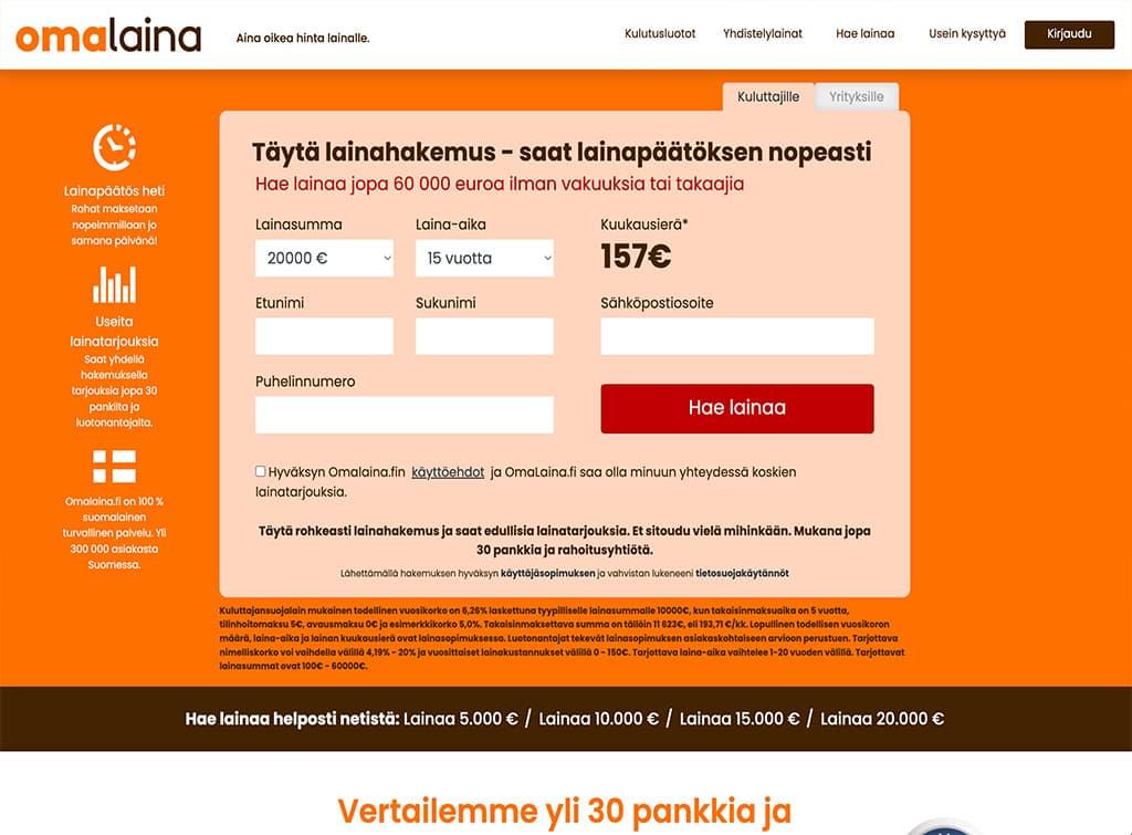 kokemuksia omalaina.fi palvelusta