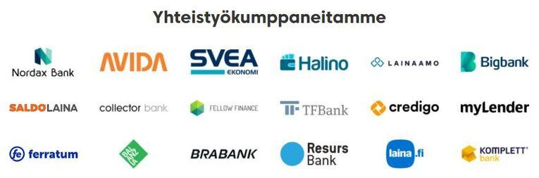 rahalaitoksen yhteistyokumppanit
