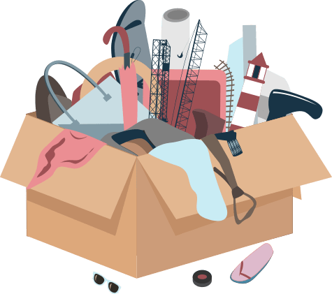 Vaikea vähentää tavaraa