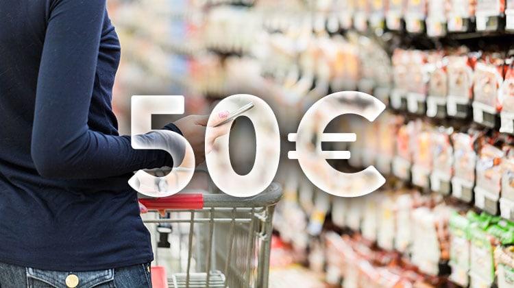 Viikon ruokalista 50 eurolla